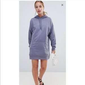 Petite oversized hoodie dress